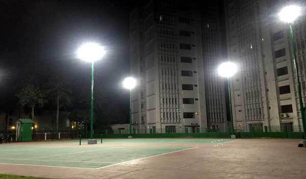 Bangladesh Navy Hq Tennis Court S Led Lighting